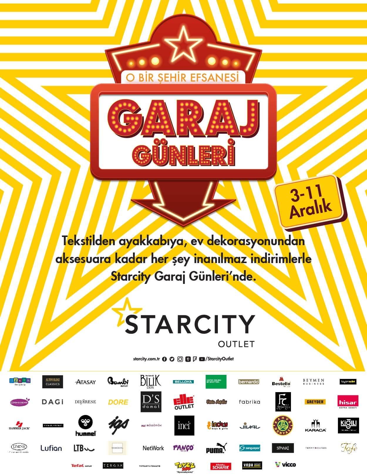 Garaj Günleri 3-11 Aralık