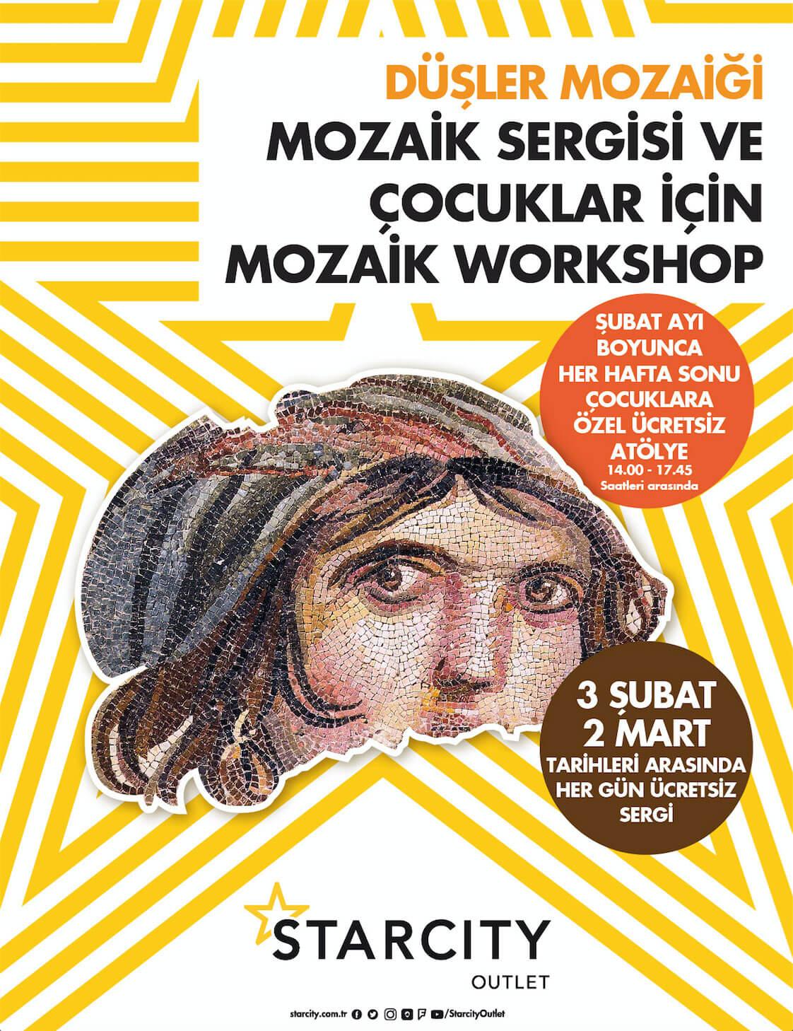 Düşler Mozaiği ve Çocuklar İçin Mozaik Workshop Starcity'de