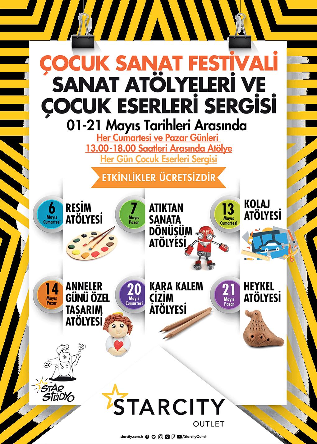 ÇOCUK SANAT FESTİVALİ
