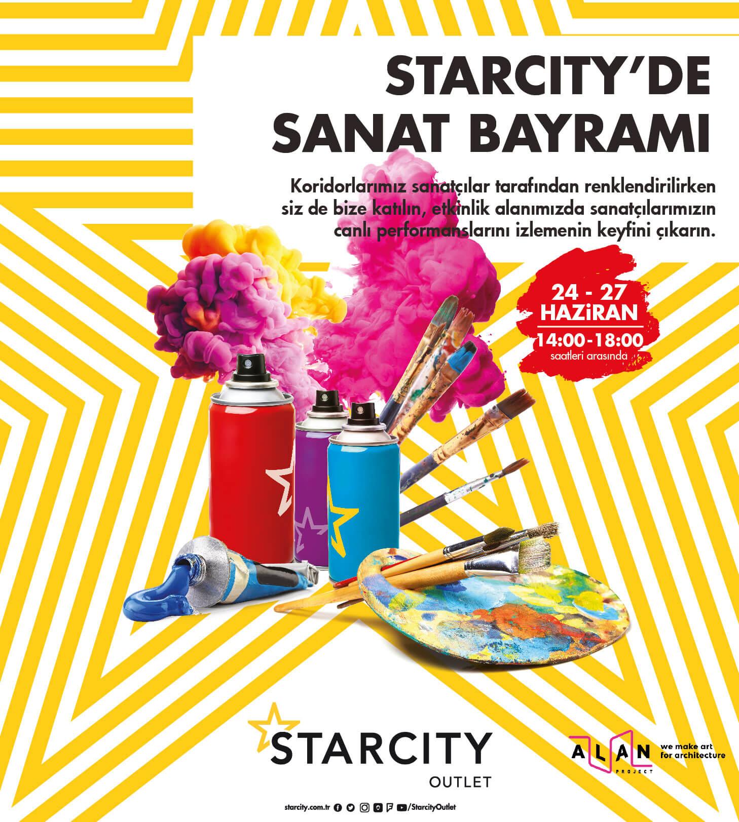 Starcity'de Sanat Bayramı