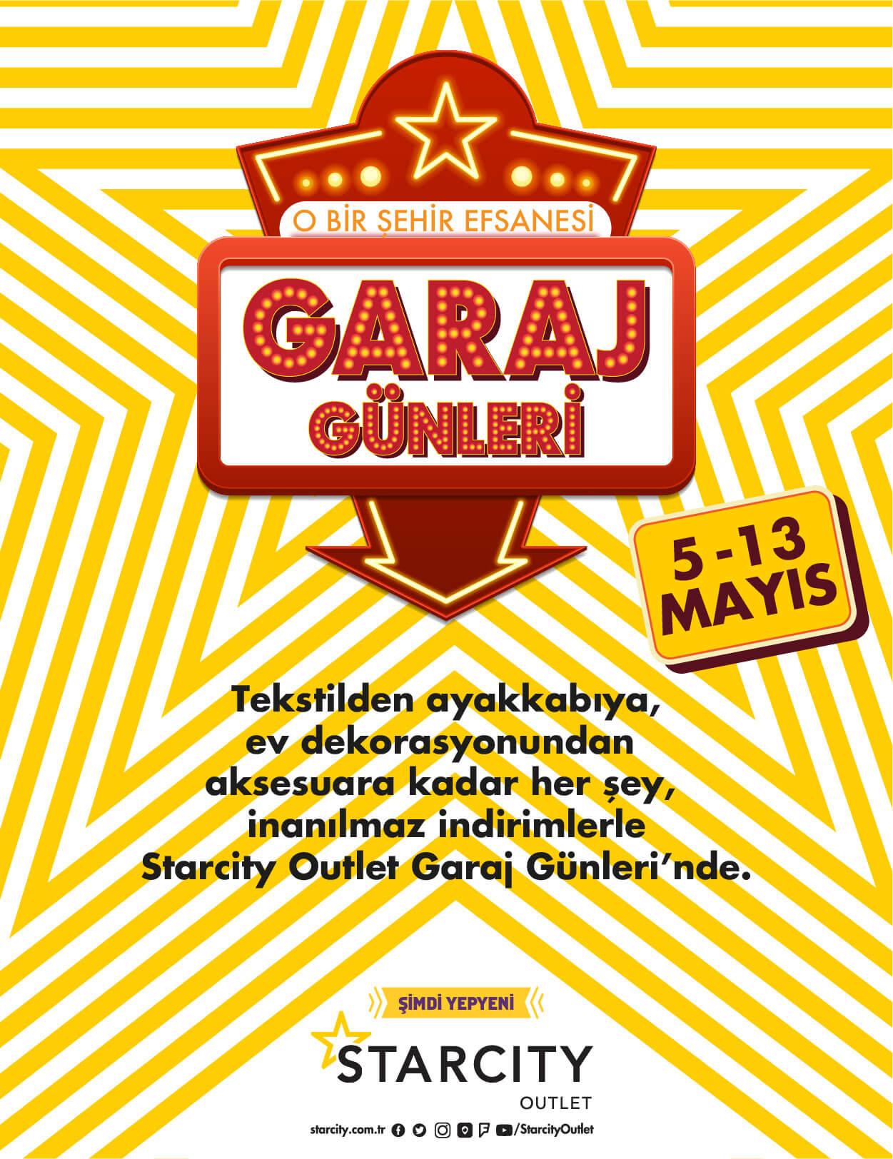 GARAJ GÜNLERİ 05 - 13 Mayıs 2018