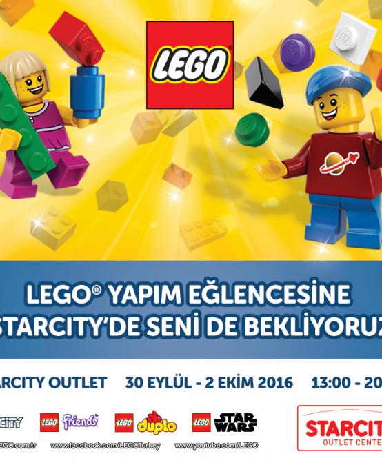 Lego Yapım Eğlencesi Starcity'de